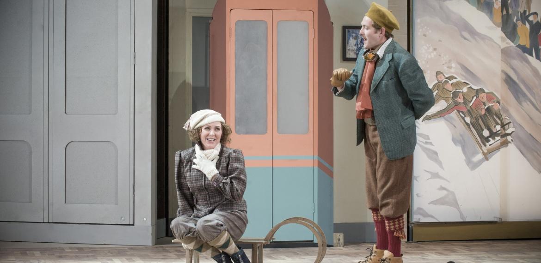Christine and Baron Lummer in Intermezzo