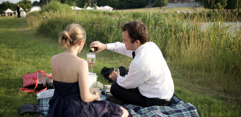 Picnicking at Garsington Opera