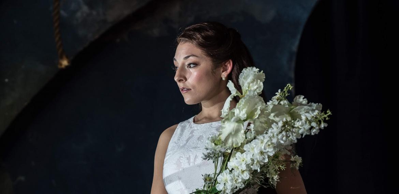 Garsington Opera 2017 Pelléas et Mélisande  Andrea Carroll (Mélisande), Susan Bickley (Geneviève) credit Clive Barda