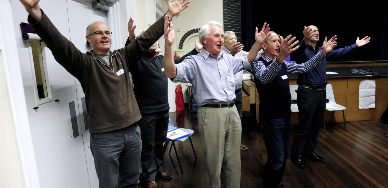 Adult Community Chorus - The Nightingale Sings