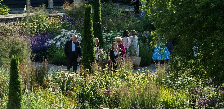 Opera Garden at Garsington Opera Credit: Clive Barda