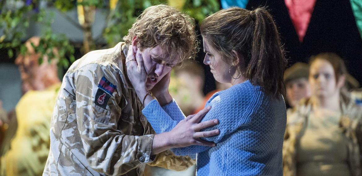 Garsington Opera 2017 Silver Birch Sam Furness (Jack), Victoria Simmonds (Anna) credit John Snelling