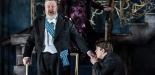 Garsinton Opera 2017 Pelléas et Mélisande Brian Bannatyne-Scott (Arkel), Susan Bickley (Geneviève), Jonathan McGovern (Pelléas) credit Clive Barda