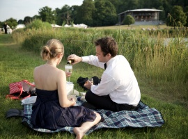 Picnicking at Garsington Opera