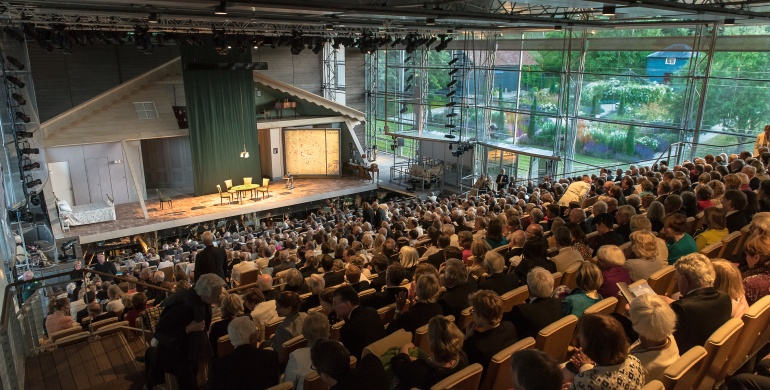 Garsington Opera auditorium