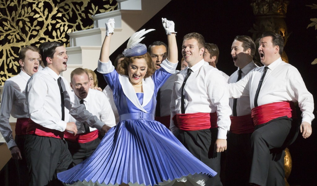 Garsington Opera, L'italiana in Algeri 2016 - Ezgi Kutlu (Isabella) Credit: Johan Persson