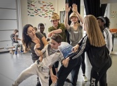 Garsington Youth Opera Company rehearse Silver Birch
