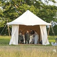 Small Private Tent