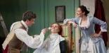 Le nozze di Figaro Garsington Opera 2017 Joshua Bloom (Figaro), Marta Fontanals-Simmons (Cherubino), Jennifer France (Susanna) credit Mark Douet-min.jpg