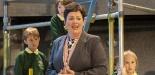 Garsington Opera 2017 Silver Birch Sarah Redgwick (Mrs Morrell) with Community Chorus credit John Snelling