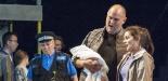 Garsington Opera 2017 Silver Birch Darren Jeffery (Simon), Victoria Simmonds (Anna) with Community Chorus credit John Snelling