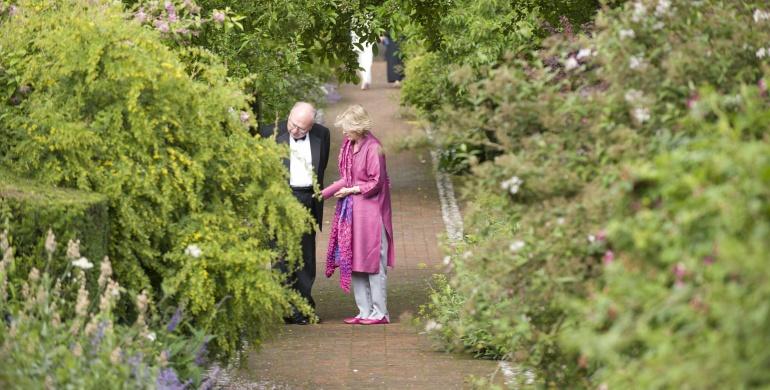 Wormsley Estate Walled Garden